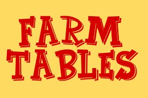 farmhouse farm tables harvest tables trestle tables